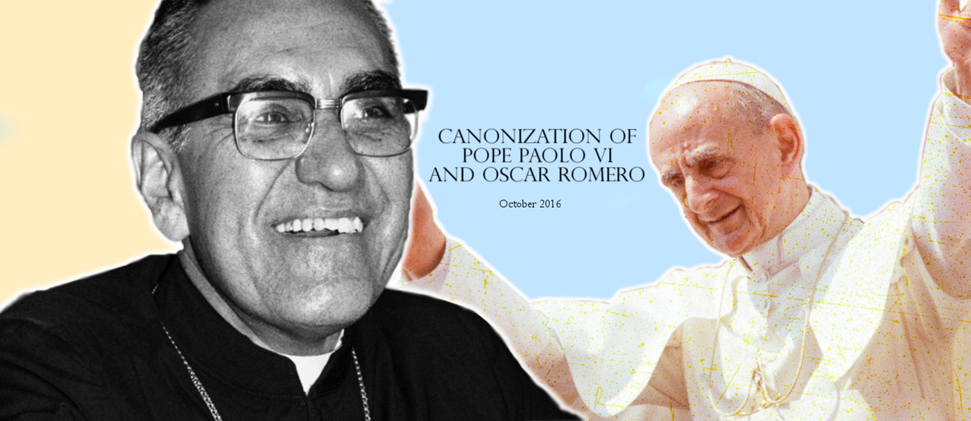 Canonization of Pope Paolo VI and Oscar Romero