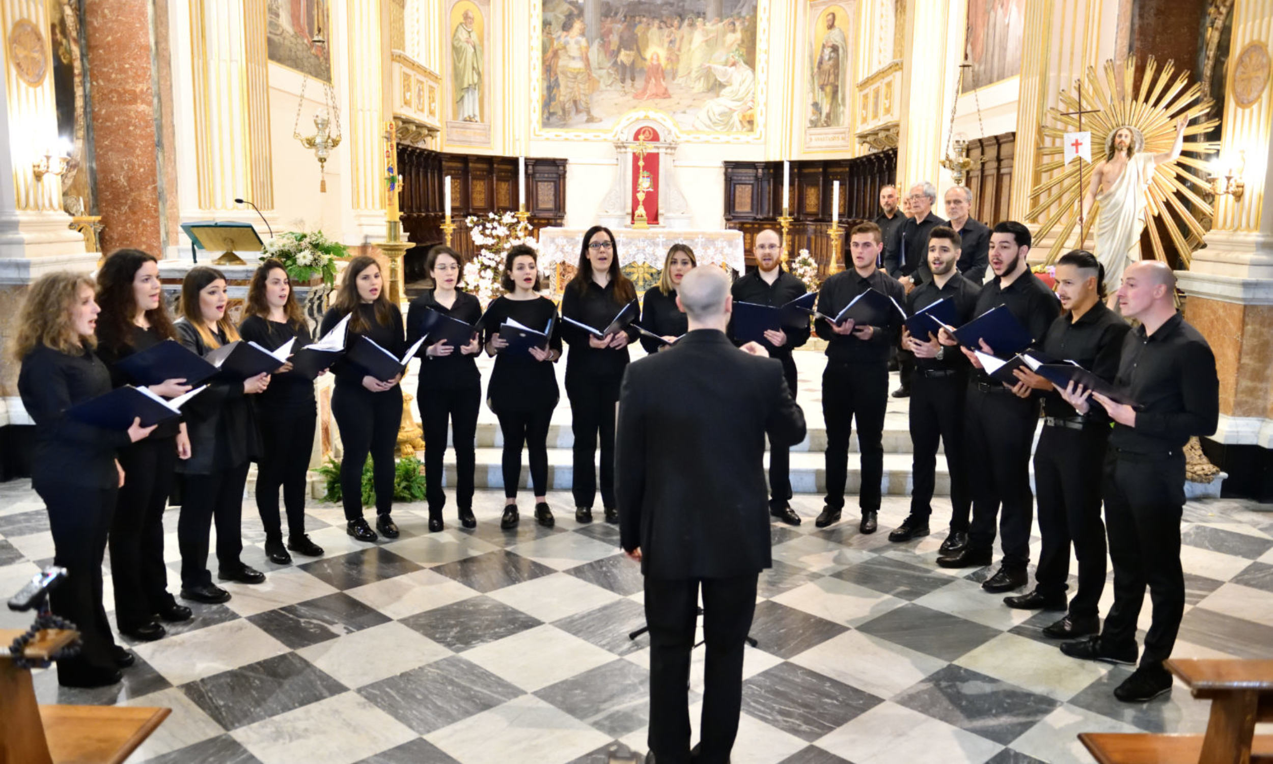 Sing with a local choir at Palestrina s Cathedral